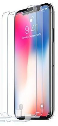 استكر شاشة قزاز ايفون X iphone مع جرم