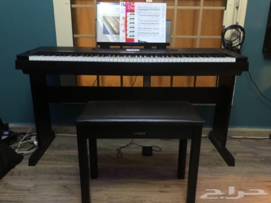 بيانو 88 مفتاح DGX-660 ياماها