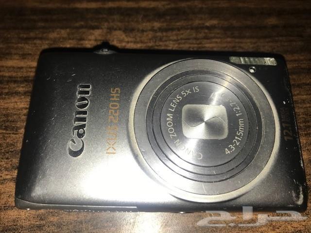للبيع كاميرا مستعملة   Canon IXUS 220 HS