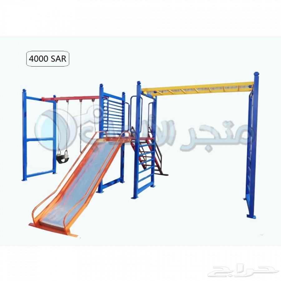 العاب اطفال خارجيه حدائق زحاليق مراجيح  فايبر