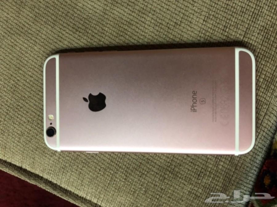 للبيع ايفون 6S روز قولد نظيف وشبه جديد