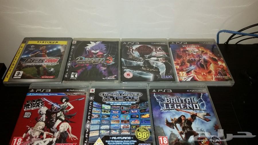 6 ألعاب سوني بلاي ستيشن PS3 نظيفة جدا