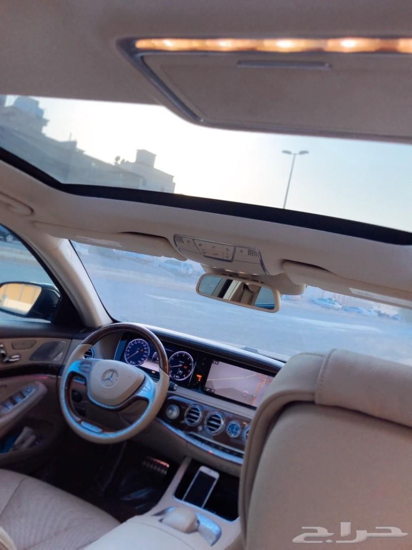 مرسيدس 2014 S500 محول مايباخ