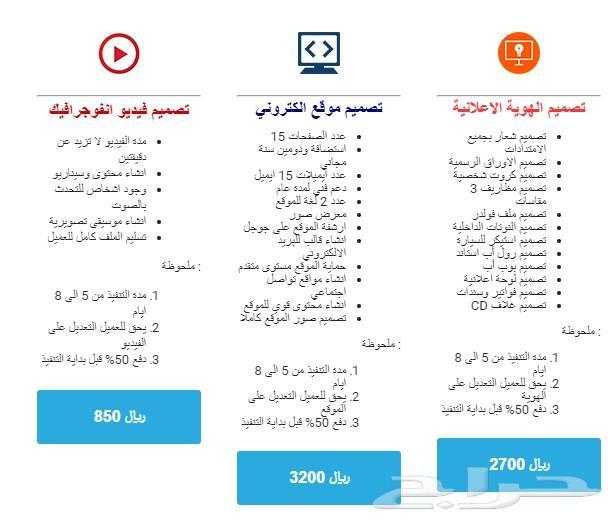 »  تصميم هوية اعلانية - تصميم مواقع الكترونية