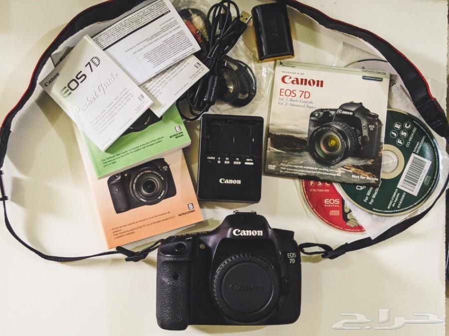 كاميرا كانون 7D مثل الجديدة - Canon 7D