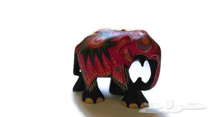 »  فيل خشب انتيكا (عدد 3 حبه)