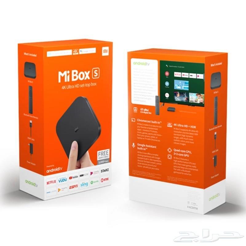 جهاز رسيفير شاومي Mi Tv Box S