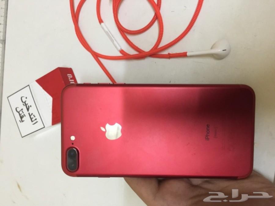 ايفون 7 plus red