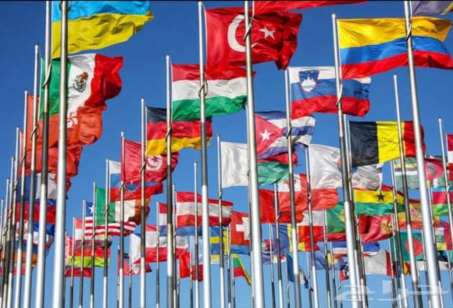 اعلام دول للبيع