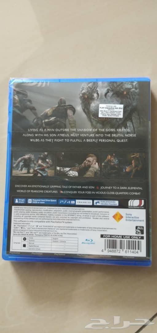 God of war PS4 جديده غير مستعمله