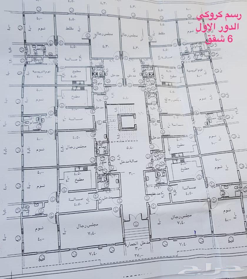 عمارة للبيع  بمخطط الرياض (ج) بسعر مغري