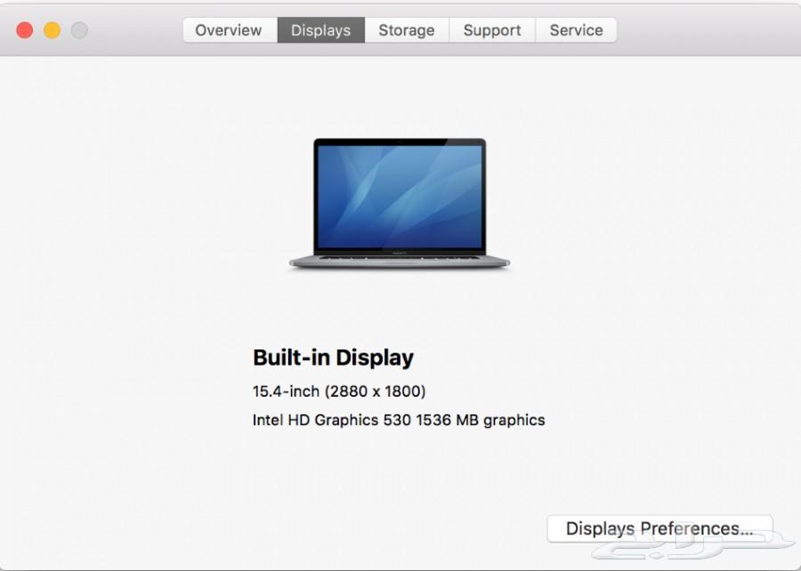 2016 Apple MacBook Pro 15 Intel Quad i7 2.9GH