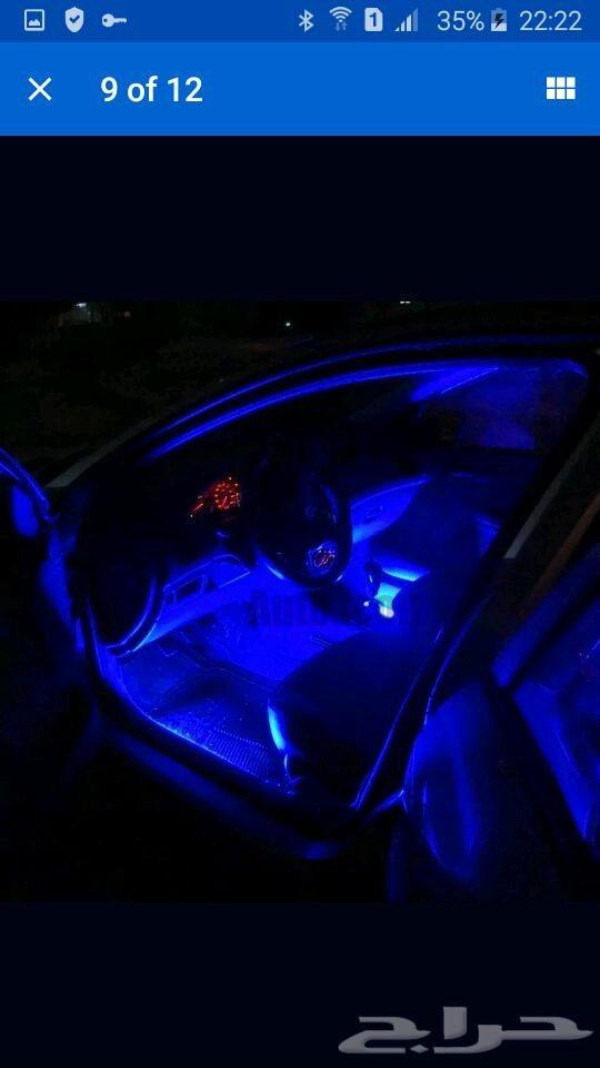 »  اضاءات داخلية للسيارات led و aux بلوتوث