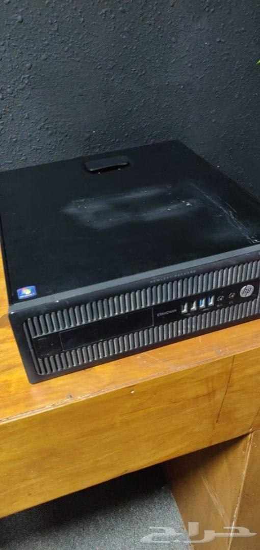 جهاز كمبيوتر HP معالج i5  و SSD