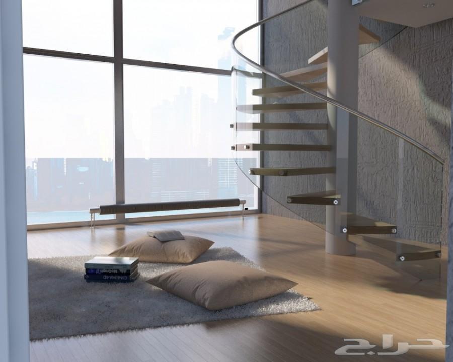 مصمم 3D محلات معارض فلل شاليهات
