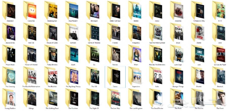 افلام ومسلسلات للبيع في هاردسك وبالجودة HD