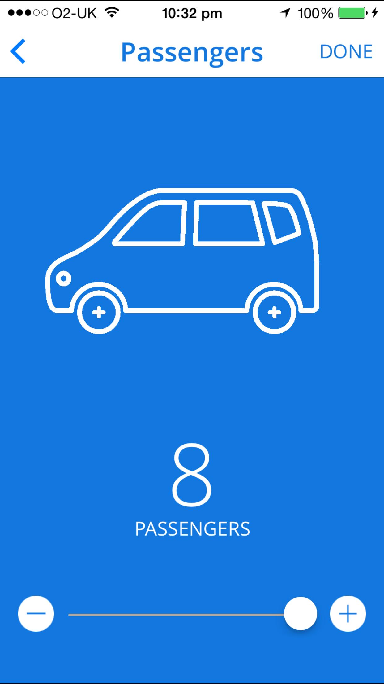 Passenger Selector