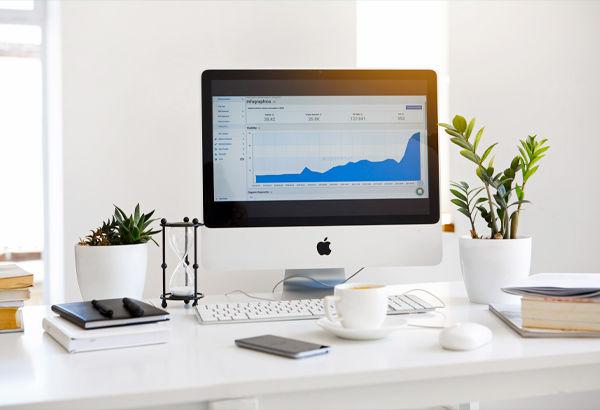 schermata di analisi dati di un mac