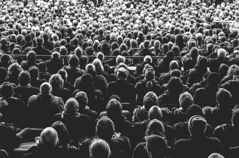 Pubblico seduto