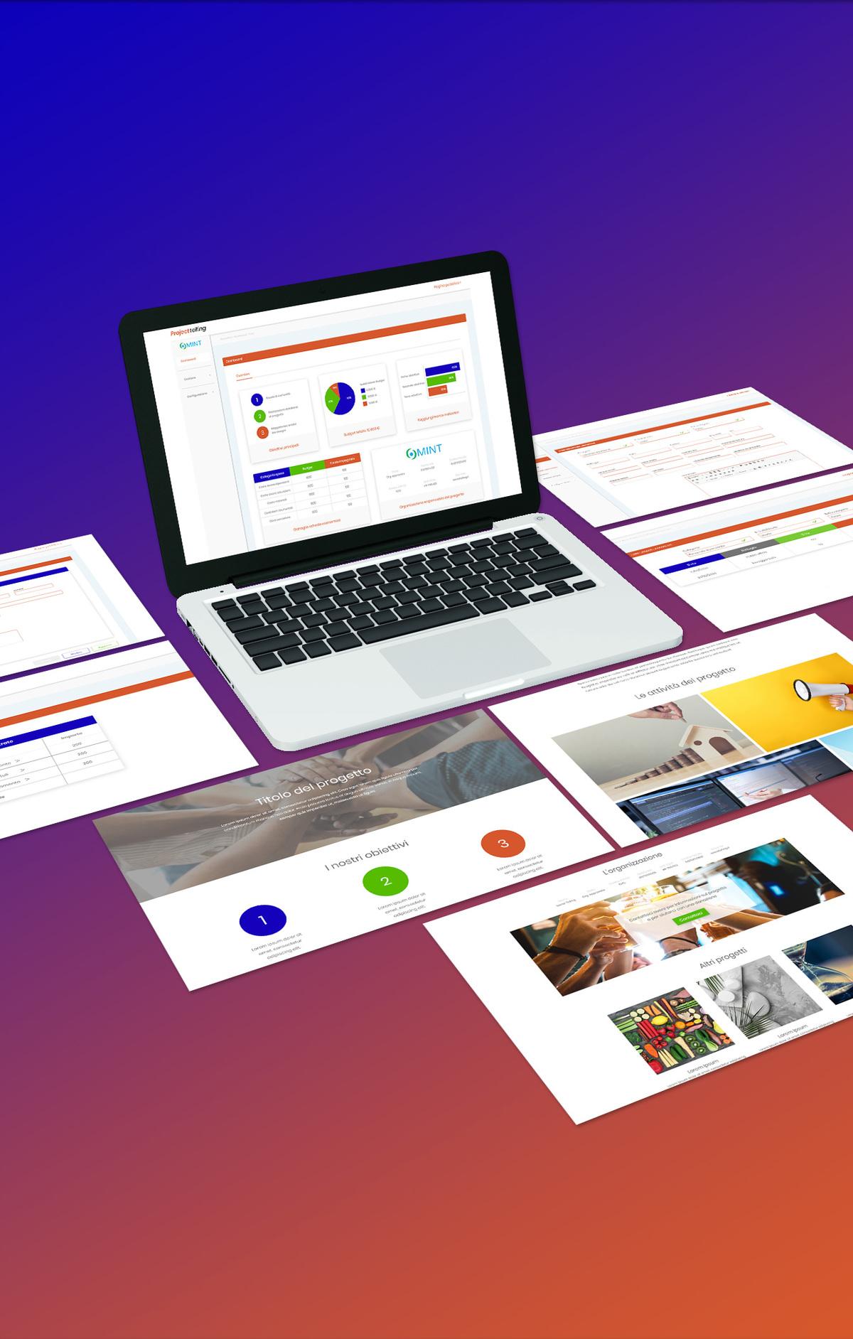 presentazione del progetto di layout