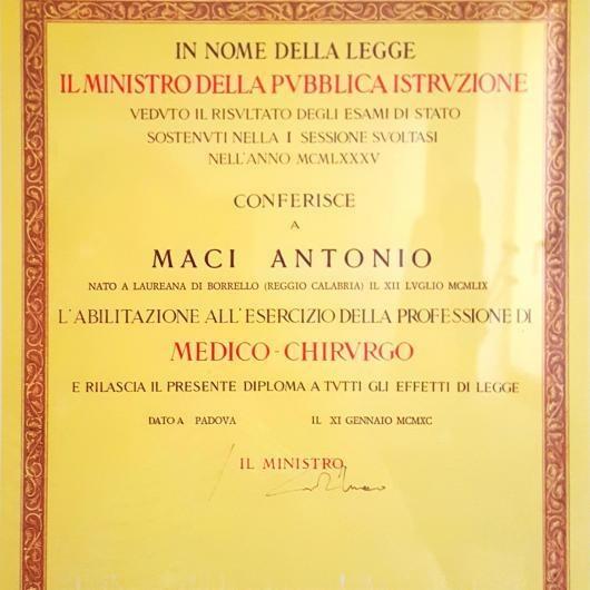 Antonio Maci