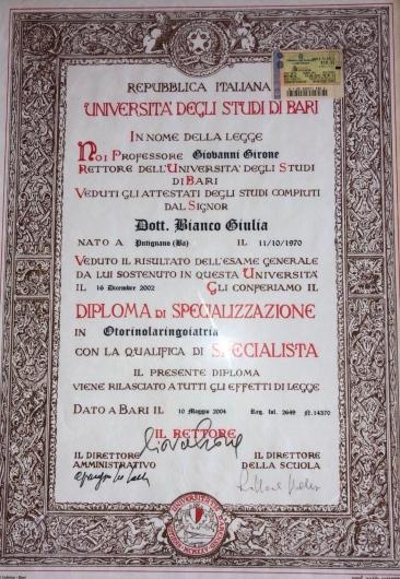 Giulia Bianco - Galleria Fotografica