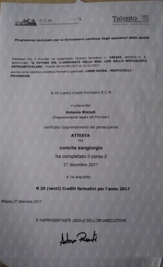 Concita Sangiorgio - Galleria Fotografica