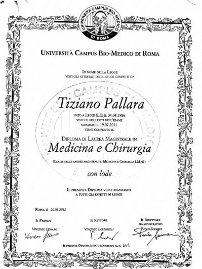 Tiziano Pallara - Galleria Fotografica
