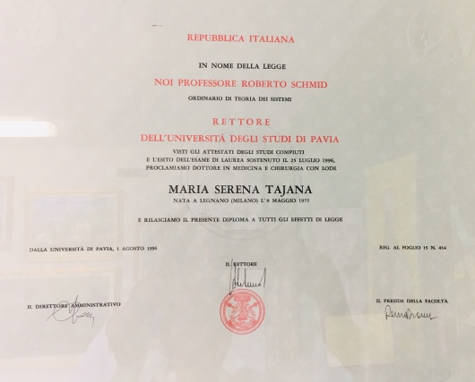 Maria Serena Tajana  - Multimedia