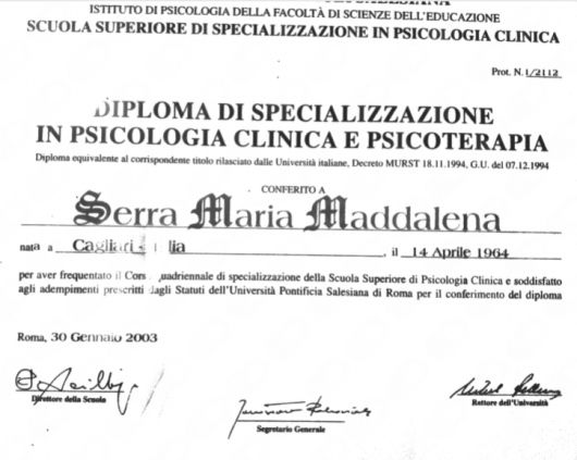 Maria Maddalena (Marilena) Serra - Galleria Fotografica