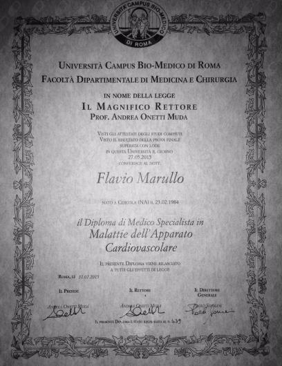 Flavio Marullo - Multimedia