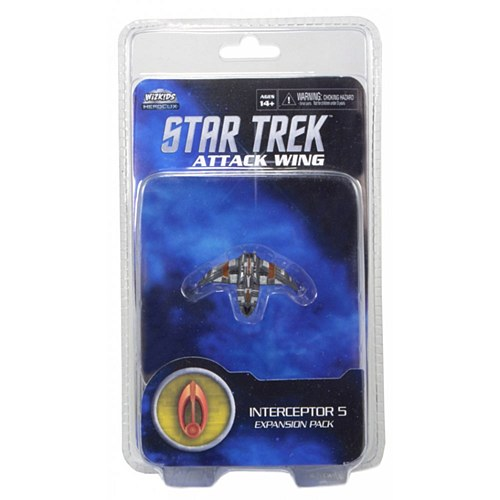 Large bajoran interceptor 5 star trek attack wing