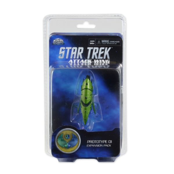 Star trek attack wing romulan drone ship expansion wave 11 raw