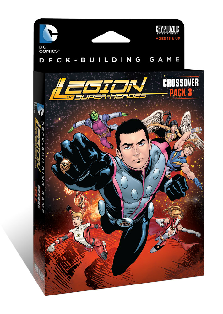 Crossover pack 3 legion of superheroes   dc deck