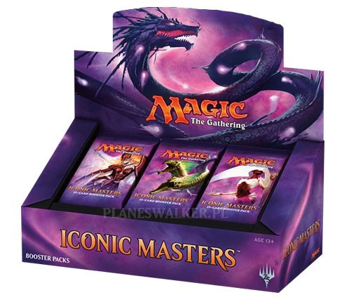 Booster box iconic masters 2017