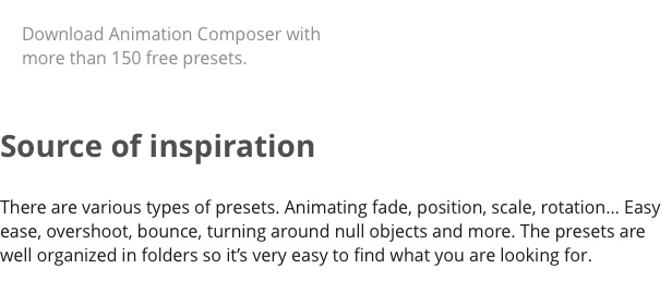 3D Motion Presets for Animation Composer - 10