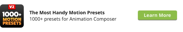 3D Motion Presets for Animation Composer - 29