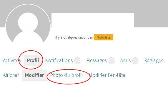 Configurer la photo de votre profil sur Masseuses et Escort Girl Madagascar