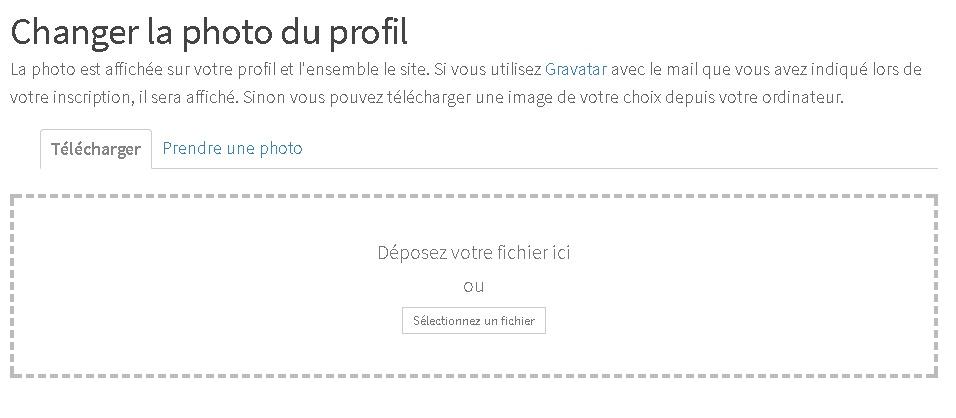 Publier une image sur profil sur le site Masseuses et Escort Girls de Madagascar
