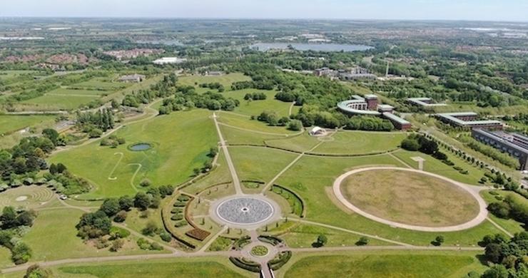 Campbell Park in Milton Keynes