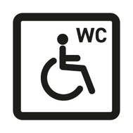 Disabled toilets available