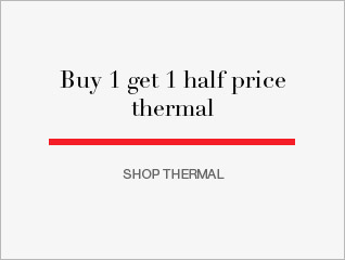 Buy 1 get 1 half price thermal