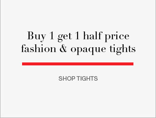 Buy 1 get 1 half price fashion and opaque tights