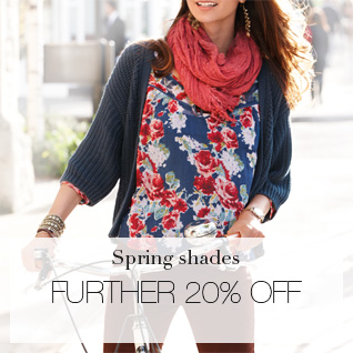 spring shades - further 20% off
