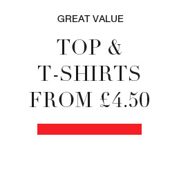 great value tops and t-shirts from £4.50