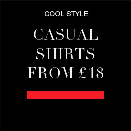 cool, casual shirts from £18