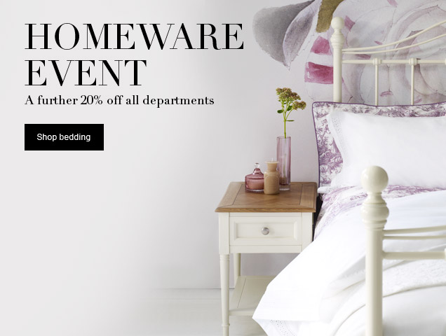 homeware event!