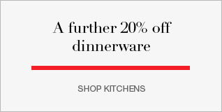 further 20% off dinnerware