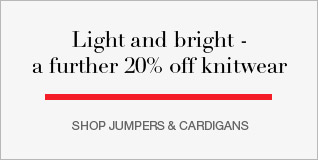 Light and Bright - further 20% off knitwear