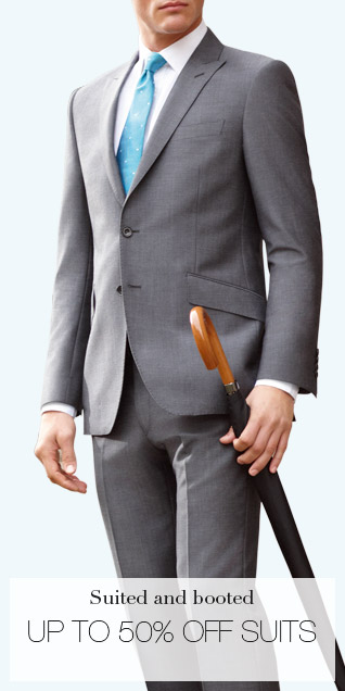 Suited and booted - UP TO 50% OFF SUITS